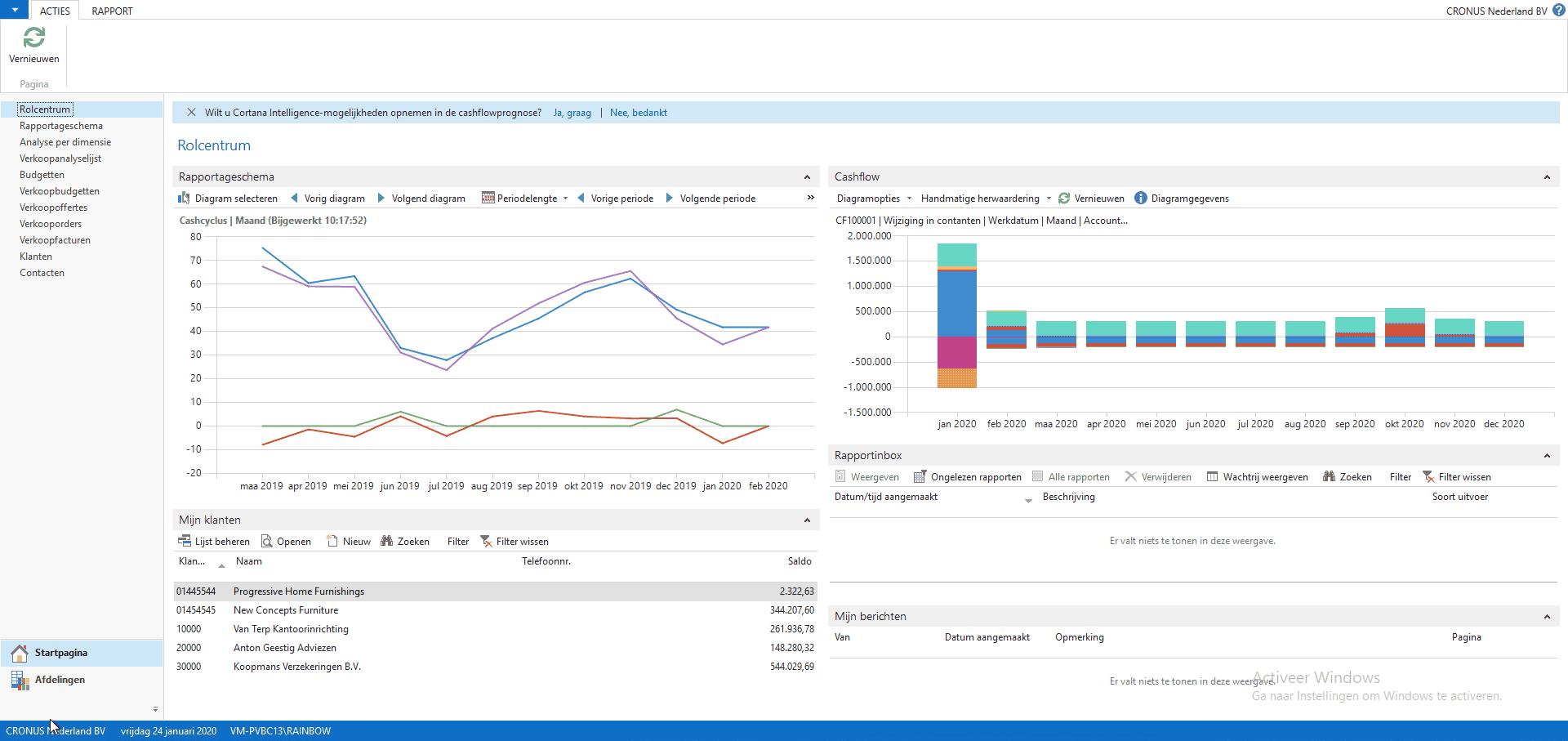 Finance - Microsoft Dynamics 365